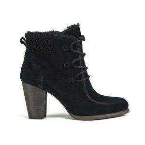 UGG Suede Winter Heel Ankle boots